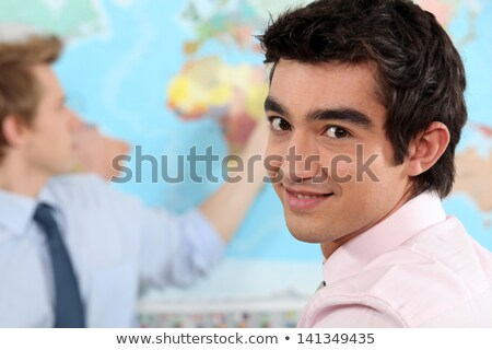Jonge professionele internationale betrekkingen klasse business Stockfoto © photography33