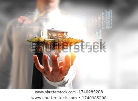 Model housing development Stock photo © photography33