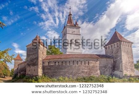 教会 · ヨーロッパ · 中世 · シーズン · ヨーロッパの · ランドマーク - ストックフォト © igabriela