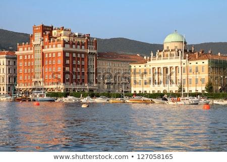 Trieste Palazzo Carciotti Stock photo © LianeM