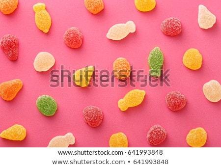 Gummy fruit candy Stock photo © Digifoodstock