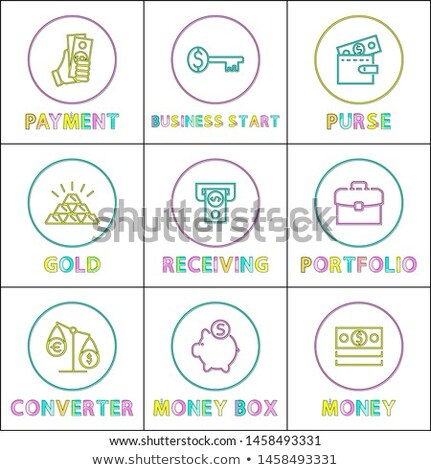 Key to Money Receiving and Business Starting Card Stock photo © robuart
