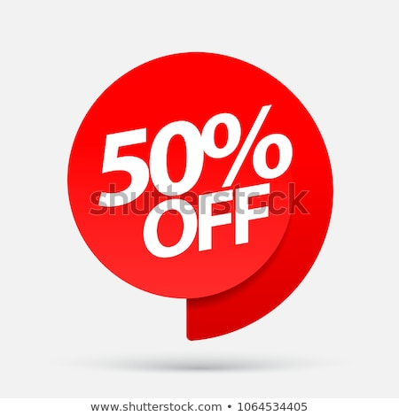 Price Reduction Offer 50 Percent Off Banner Vector Stock photo © robuart