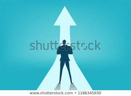 Business Development, Finance and Progress Vector Stock photo © robuart