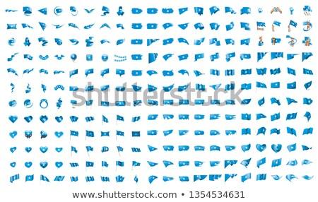 Duży kolekcja wektora flagi Somali podpisania Zdjęcia stock © butenkow