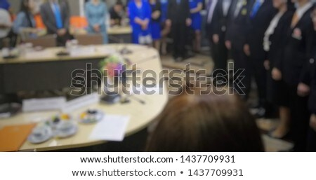 Businesswomen stood in a row Stock photo © photography33