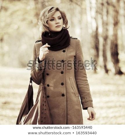 eenvoudige · jonge · vrouw · gezicht · glimlachend · optimistisch · meisje - stockfoto © photography33