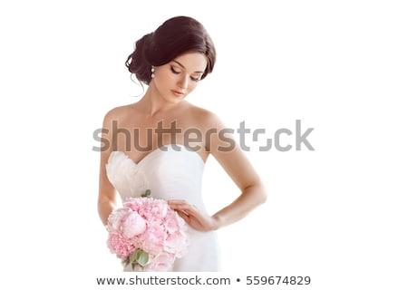 beautiful bride white stock photo © jarp17
