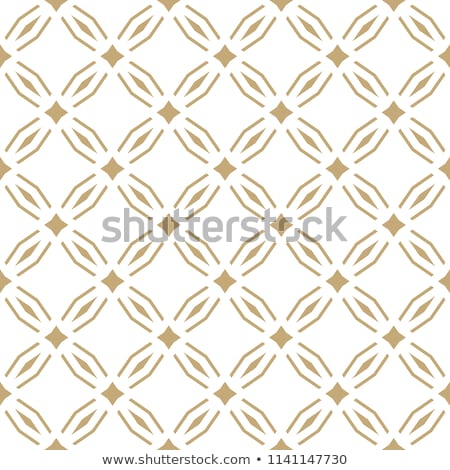 Stock photo: seamless geometric islamic squared and stars pattern