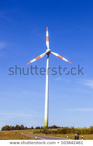風車 エネルギー 夏 そよ風 通り 技術 ストックフォト © meinzahn