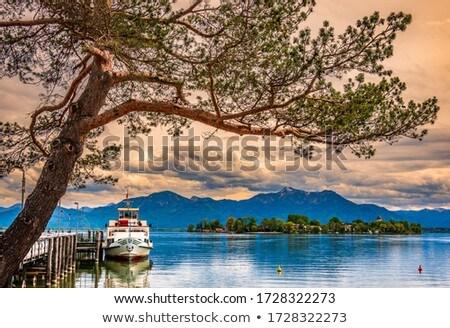 lake chiemsee stock photo © manfredxy