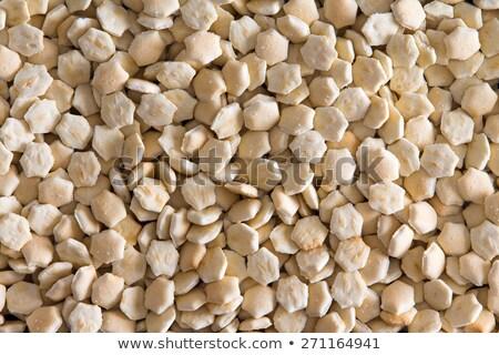 Klein oester textuur geserveerd soep full frame Stockfoto © ozgur