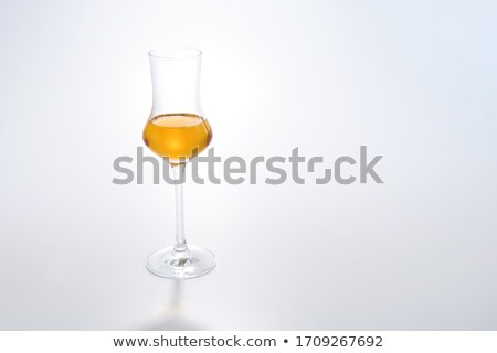 remnants of alcohol in a glass Stock photo © inxti