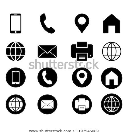 globo · localização · ícone · simples · ilustração · negócio - foto stock © kyryloff