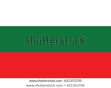 Bulgária zászló fehér terv háttér felirat Stock fotó © butenkow