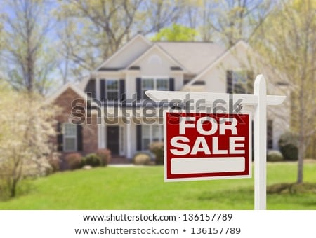 house, real estate signs Stock photo © djdarkflower
