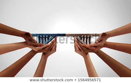 グループ 橋 建物 ビジネス 成功 ストックフォト © Lightsource