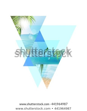 Seascape coastline Stock photo © elwynn