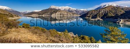 View of lake Serre-Poncon Stock photo © Fesus