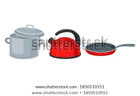 saucepan with pouring spout Stock photo © Digifoodstock