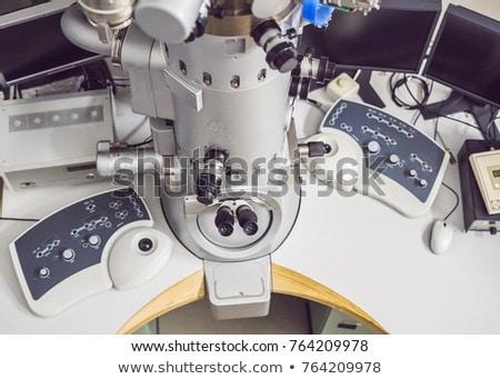 Elétron microscópio científico laboratório medicina lab Foto stock © galitskaya
