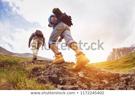 wandelen · parcours · berg · zuiden · natuur · veld - stockfoto © zurijeta
