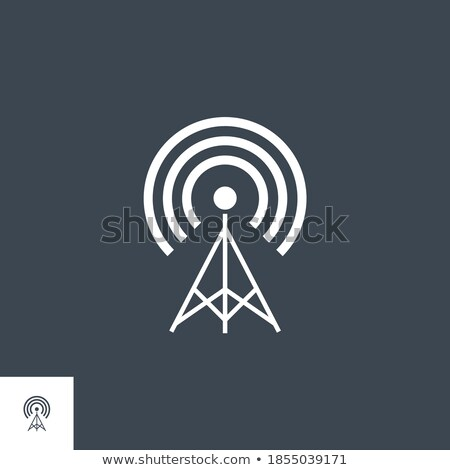 telekommunikáció · antenna · technológia · kommunikáció - stock fotó © smoki