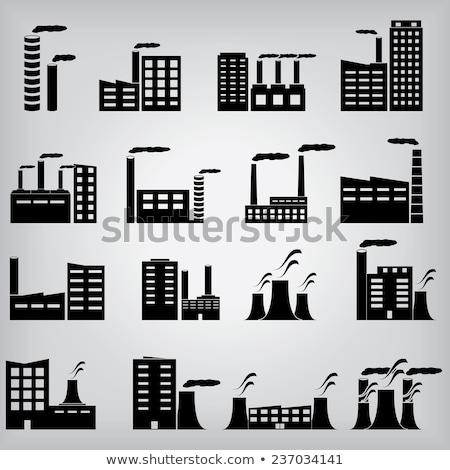 Werken icon vector schets illustratie Stockfoto © pikepicture