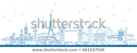 Famoso Europa turismo lugar Foto stock © ShustrikS