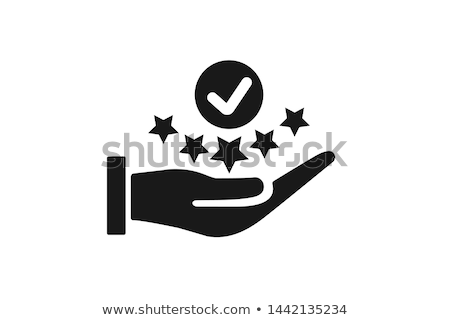 Klienta wektora ikona odizolowany biały działalności Zdjęcia stock © smoki