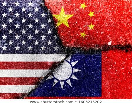 Estados Unidos China lutar EUA comércio guerra Foto stock © Lightsource