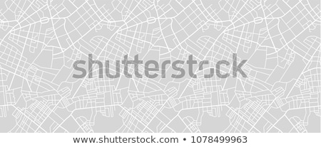 Stock fotó: City Seamless Pattern