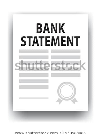 Számla papír pénzügy Euro pénz Európa Stock fotó © gewoldi