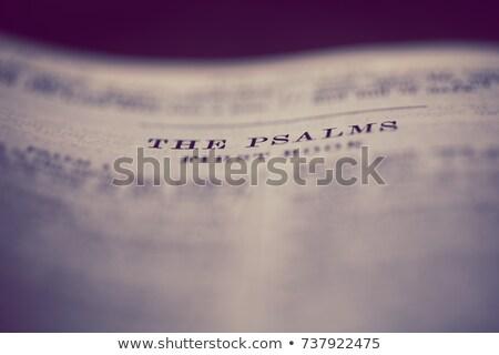 book of psalms stock photo © skylight