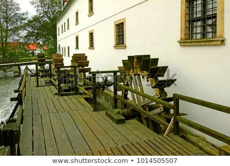 воды мельница Чешская республика здании архитектура обучения Сток-фото © phbcz