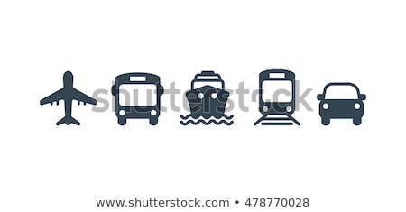 Set of transport icons - sports transportation stock photo © Ecelop
