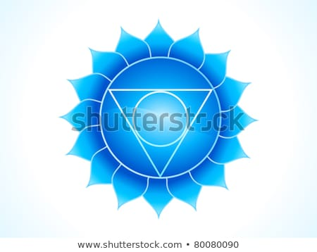 detailed throat chakra Stock photo © pathakdesigner