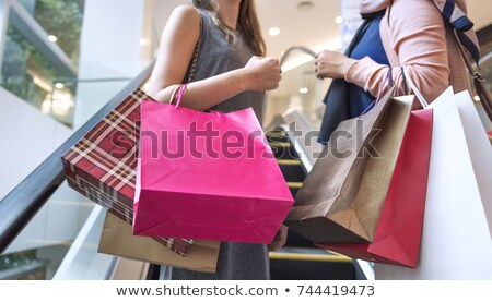 Woman going shopping Stock photo © photography33