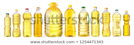 нефть бутылку зеленый подсолнечника кукурузы белый Сток-фото © ozaiachin