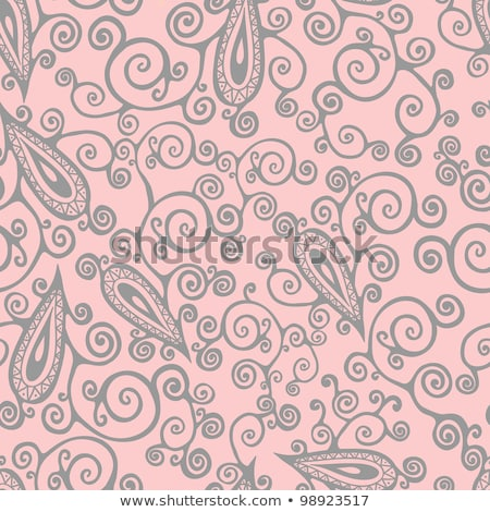 Vibrant ornamental design with curlicues Stock photo © Amosnet