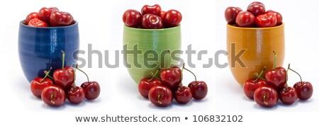 сочный · рубин · красный · вишни · синий · зеленый - Сток-фото © Armisael