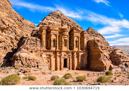Petra, the lost city of the Nabateans Stock photo © Armisael
