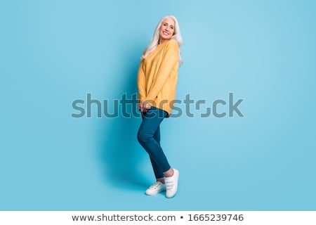 Full length view of gorgeous woman stock photo © stockyimages