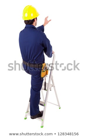 painter and electrician back to back stock photo © photography33