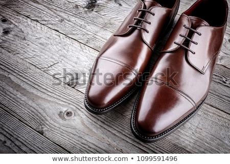 義務 · 靴 · 孤立した · 白 · 背景 - ストックフォト © vlad_star