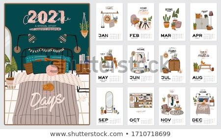 Foto stock: Calendario · programa · calendario · tiro