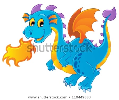 dragon theme image 4 stock photo © clairev