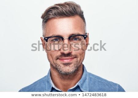man glancing at the camera stock photo © photography33