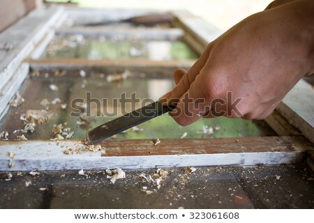 Woman with an paint stripper Stock photo © photography33