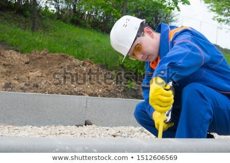 職人 レベル 男 木材 作業 ストックフォト © photography33